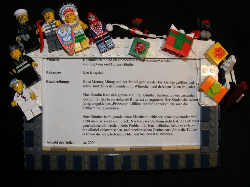 Vom Konstrukteur unseres Lego-Ladens